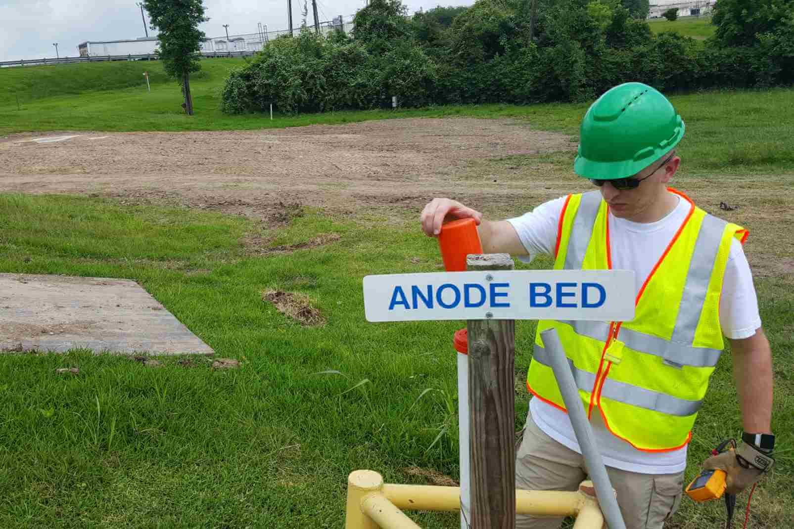 Pipeline Survey, Potential Survey, Anode Ground Bed Testing