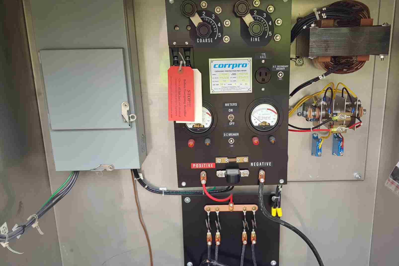 Cathodic Protection Rectifier, System Start-Up and Commissioning, Electrical Installation
