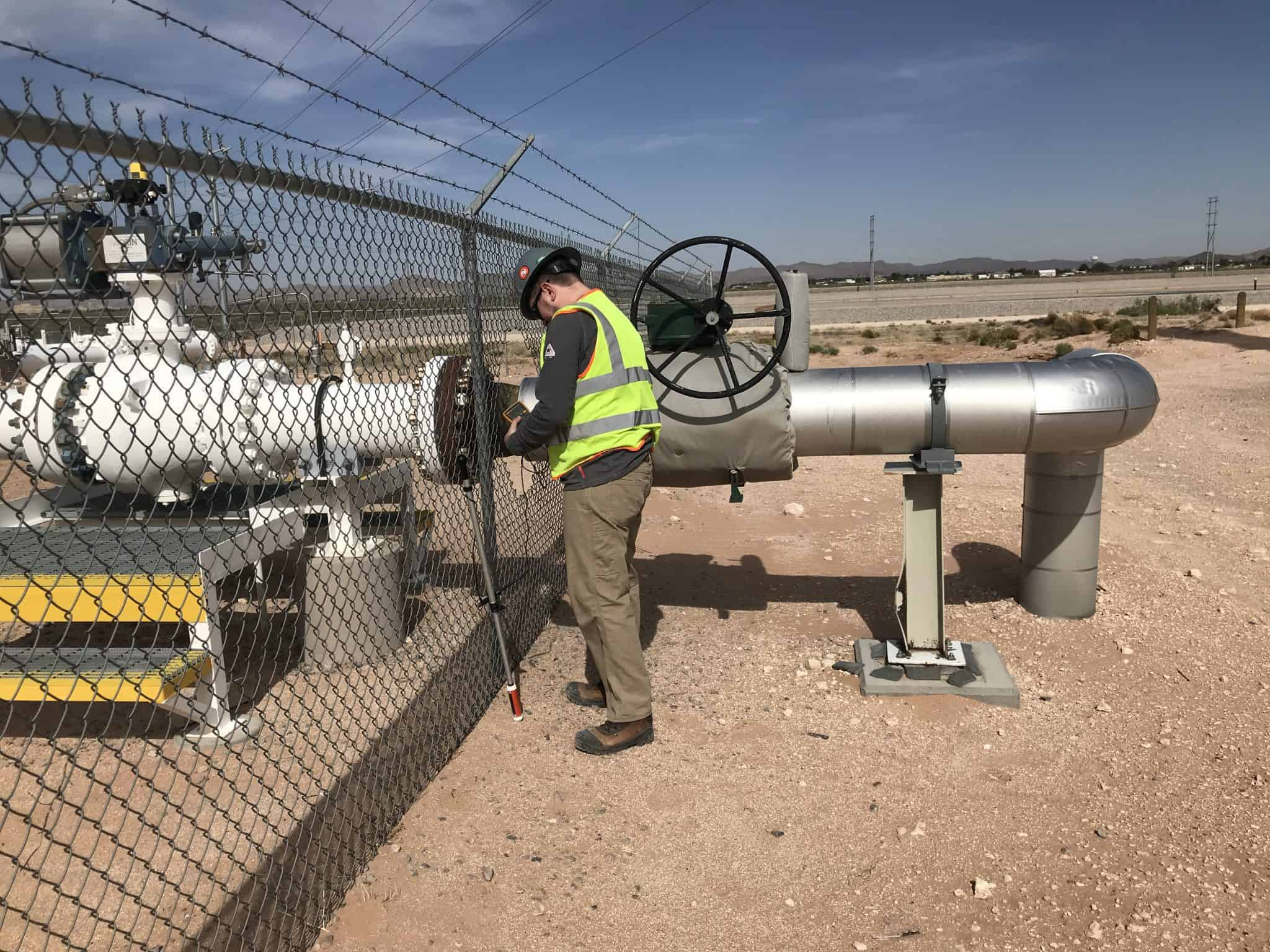 Gas Pipeline Main Transition