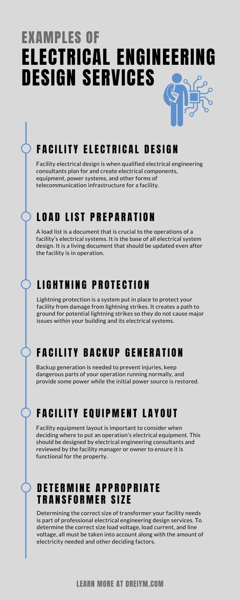 Examples of Electrical Engineering Design Services