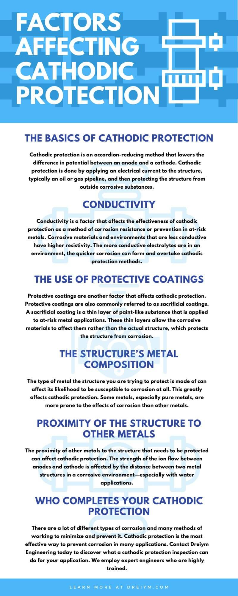 Factors Affecting Cathodic Protection