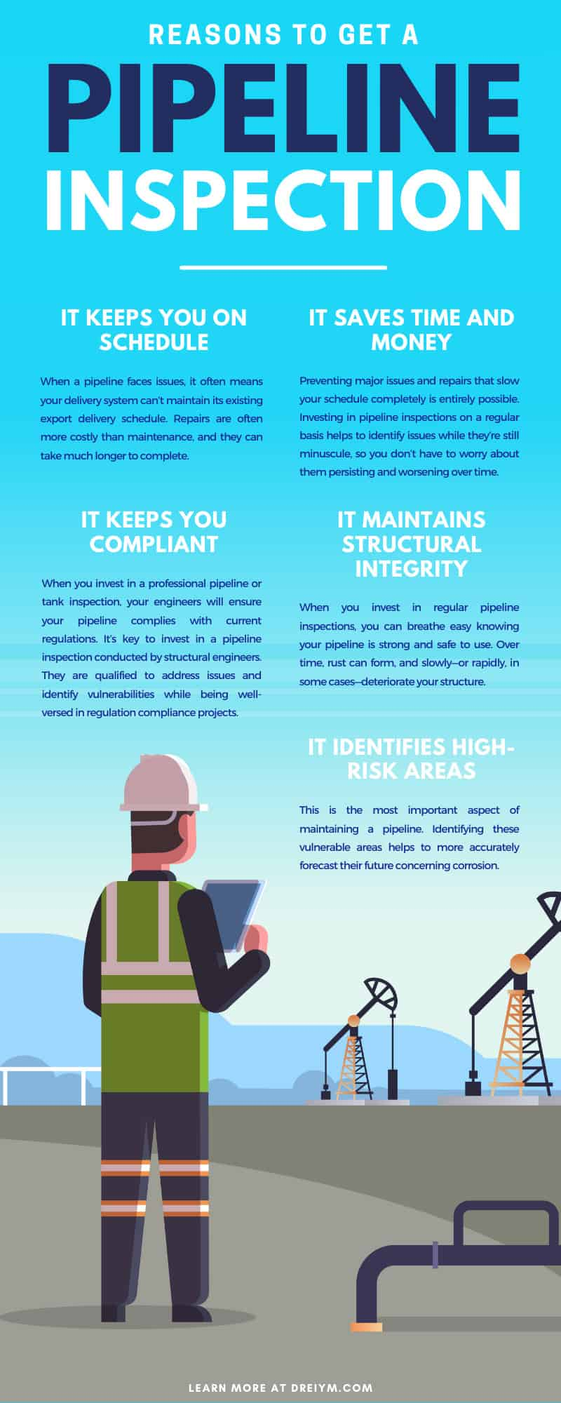 Reasons To Get a Pipeline Inspection