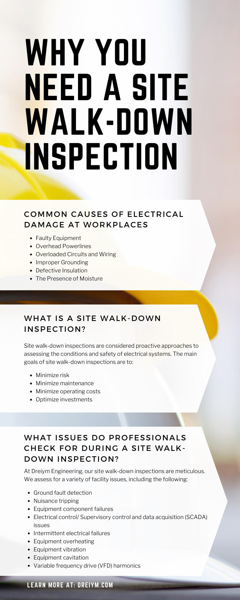 Why You Need a Site Walk-Down Inspection